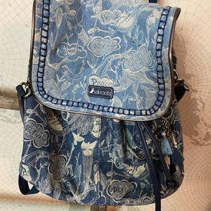 Sakroots Denim backpack like new